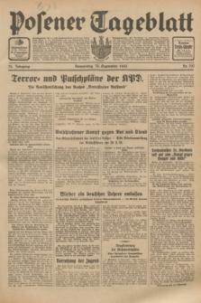 Posener Tageblatt. Jg.72, Nr. 210 (14 September 1933) + dod.