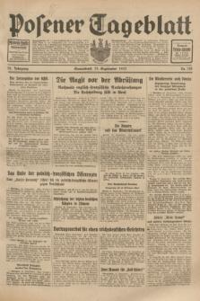 Posener Tageblatt. Jg.72, Nr. 218 (23 September 1933) + dod.