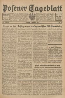 Posener Tageblatt. Jg.72, Nr. 231 (8 Oktober 1933) + dod.