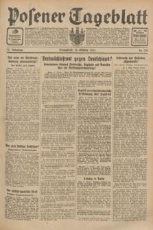 Posener Tageblatt. Jg.72, Nr. 236 (14 Oktober 1933) + dod.