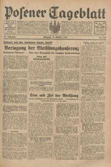 Posener Tageblatt. Jg.72, Nr. 239 (18 Oktober 1933) + dod.