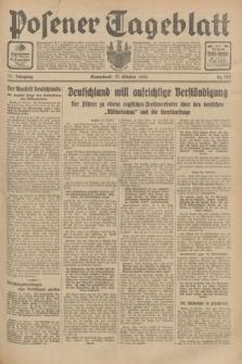 Posener Tageblatt. Jg.72, Nr. 242 (21 Oktober 1933) + dod.