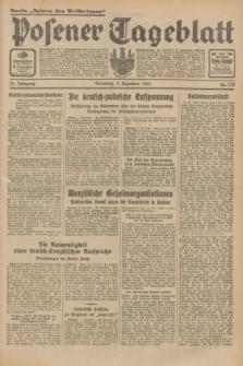 Posener Tageblatt. Jg.72, Nr. 278 (3 Dezember 1933) + dod.