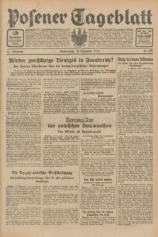 Posener Tageblatt. Jg.72, Nr. 286 (14 Dezember 1933) + dod.