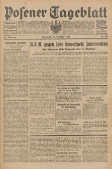 Posener Tageblatt. Jg.72, Nr. 298 (30 Dezember 1933) + dod.