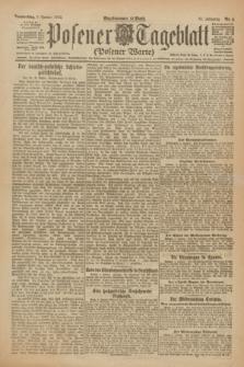 Posener Tageblatt (Posener Warte). Jg.61, Nr. 4 (5 Januar 1922)