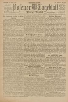 Posener Tageblatt (Posener Warte). Jg.61, Nr. 20 (25 Januar 1922) + dod.