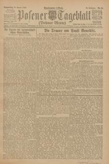 Posener Tageblatt (Posener Warte). Jg.61, Nr. 21 (26 Januar 1922)