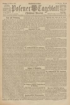 Posener Tageblatt (Posener Warte). Jg.61, Nr. 48 (28 Februar 1922)