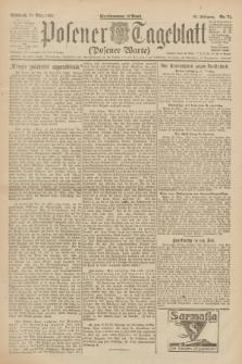 Posener Tageblatt (Posener Warte). Jg.61, Nr. 71 (29 März 1922) + dod.