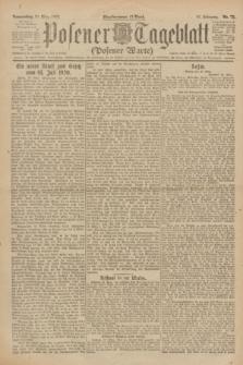 Posener Tageblatt (Posener Warte). Jg.61, Nr. 72 (30 März 1922) + dod.