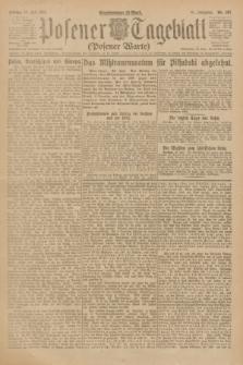 Posener Tageblatt (Posener Warte). Jg.61, Nr. 167 (28 Juli 1922) + dod.