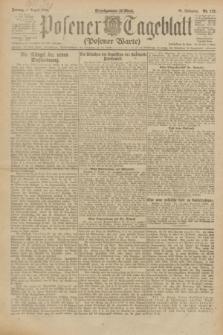 Posener Tageblatt (Posener Warte). Jg.61, Nr. 173 (4 August 1922) + dod.