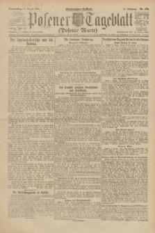 Posener Tageblatt (Posener Warte). Jg.61, Nr. 178 (10 August 1922) + dod.