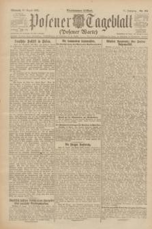 Posener Tageblatt (Posener Warte). Jg.61, Nr. 194 (30 August 1922) + dod.