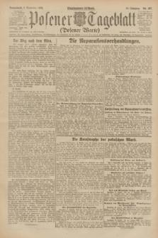 Posener Tageblatt (Posener Warte). Jg.61, Nr. 197 (2 September 1922) + dod.