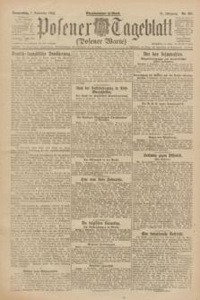 Posener Tageblatt (Posener Warte). Jg.61, Nr. 201 (7 September 1922) + dod.
