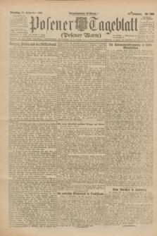 Posener Tageblatt (Posener Warte). Jg.61, Nr. 205 (12 September 1922) + dod.
