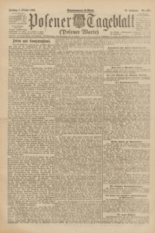 Posener Tageblatt (Posener Warte). Jg.61, Nr. 226 (6 Oktober 1922) + dod.