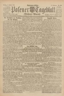 Posener Tageblatt (Posener Warte). Jg.61, Nr. 232 (13 Oktober 1922) + dod.