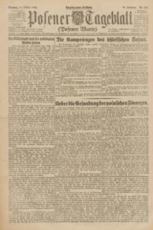 Posener Tageblatt (Posener Warte). Jg.61, Nr. 234 (15 Oktober 1922) + dod.