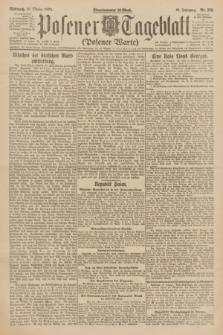 Posener Tageblatt (Posener Warte). Jg.61, Nr. 236 (18 Oktober 1922)