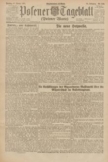 Posener Tageblatt (Posener Warte). Jg.61, Nr. 244 (27 Oktober 1922) + dod.
