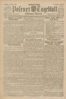 Posener Tageblatt (Posener Warte). Jg.61, Nr. 247 (31 Oktober 1922) + dod.