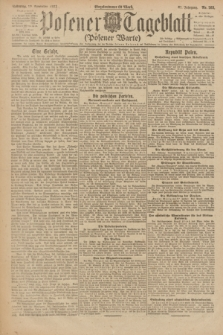 Posener Tageblatt (Posener Warte). Jg.61, Nr. 263 (19 November 1922) + dod.