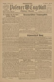Posener Tageblatt (Posener Warte). Jg.61, Nr. 274 (3 Dezember 1922) + dod.
