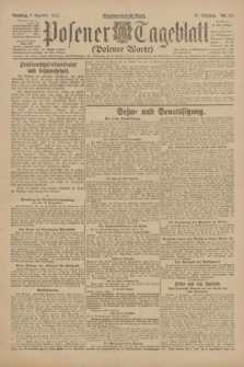 Posener Tageblatt (Posener Warte). Jg.61, Nr. 275 (5 Dezember 1922) + dod.