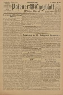Posener Tageblatt (Posener Warte). Jg.61, Nr. 284 (16 Dezember 1922) + dod.