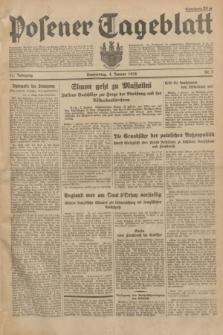 Posener Tageblatt. Jg.73, Nr. 2 (4 Januar 1934) + dod.