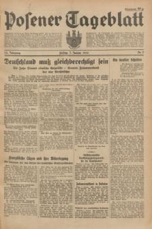 Posener Tageblatt. Jg.73, Nr. 3 (5 Januar 1934) + dod.