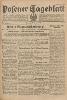 Posener Tageblatt. Jg.73, Nr. 17 (23 Januar 1934) + dod.