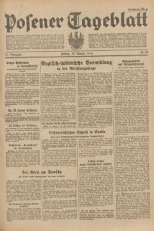 Posener Tageblatt. Jg.73, Nr. 20 (26 Januar 1934) + dod.