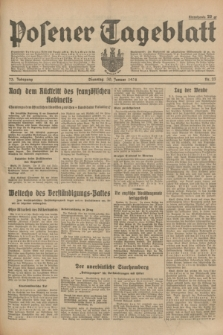 Posener Tageblatt. Jg.73, Nr. 23 (30 Januar 1934) + dod.