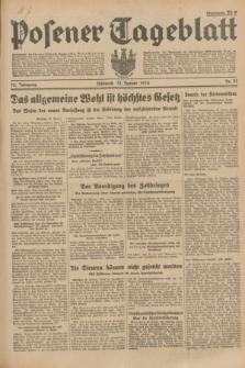 Posener Tageblatt. Jg.73, Nr. 24 (31 Januar 1934) + dod.