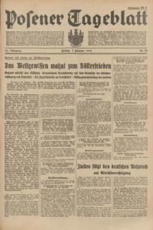 Posener Tageblatt. Jg.73, Nr. 26 (2 Februar 1934) + dod.
