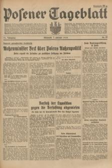 Posener Tageblatt. Jg.73, Nr. 29 (7 Februar 1934) + dod.