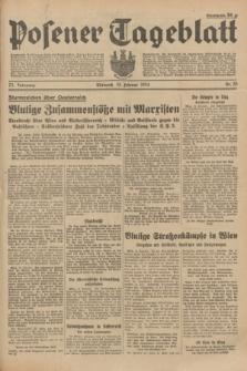 Posener Tageblatt. Jg.73, Nr. 35 (14 Februar 1934) + dod.