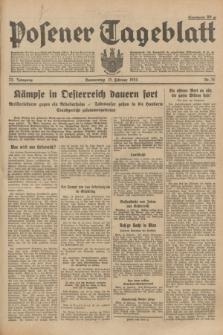Posener Tageblatt. Jg.73, Nr. 36 (15 Februar 1934) + dod.
