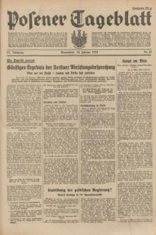 Posener Tageblatt. Jg.73, Nr. 44 (24 Februar 1934) + dod.