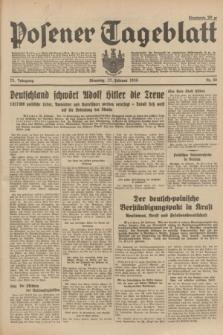 Posener Tageblatt. Jg.73, Nr. 46 (27 Februar 1934) + dod.