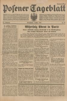 Posener Tageblatt. Jg.73, Nr. 50 (3 März 1934) + dod.