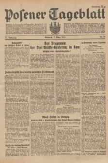 Posener Tageblatt. Jg.73, Nr. 53 (7 März 1934) + dod.