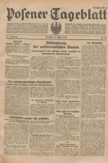 Posener Tageblatt. Jg.73, Nr. 58 (13 März 1934) + dod.