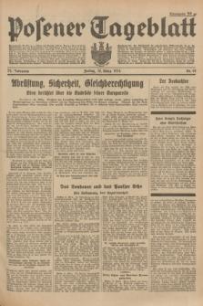Posener Tageblatt. Jg.73, Nr. 61 (16 März 1934) + dod.