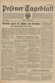 Posener Tageblatt. Jg.73, Nr. 64 (20 März 1934) + dod.