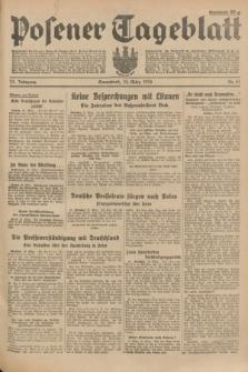 Posener Tageblatt. Jg.73, Nr. 67 (24 März 1934) + dod.